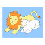 Lion and Lamb Post Card