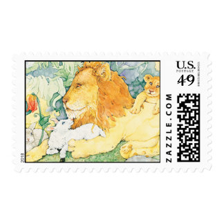 Lion and Lamb Postage
