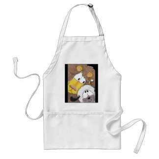 Lion and Lamb Up Close Adult Apron