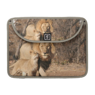 """Lion and Lion Cub 13"""" MacBook Sleeve Sleeve For MacBooks"""