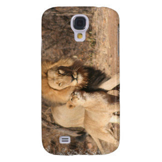 Lion and Lion Cub iPhone 3G Case Galaxy S4 Case