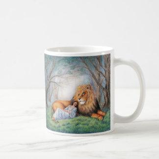 Lion and Me Classic White Coffee Mug
