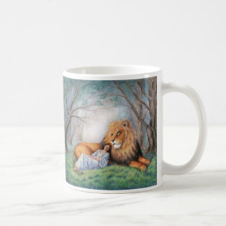 Lion and Me Coffee Mug