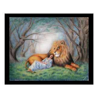 Lion and Me Poster