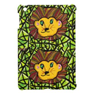lion and Peridot iPad Mini Cover