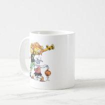 Lion and Sheep Basketball Coffee Mug