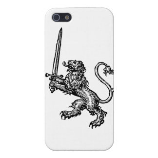 Lion and Sword iPhone case iPhone 5 Cases