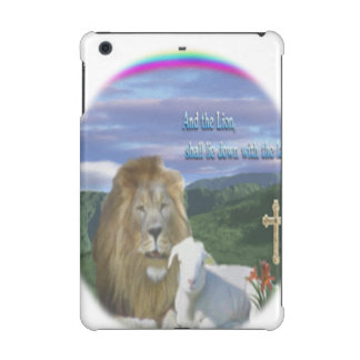 Lion and the Lamb iPad Mini Retina Cases