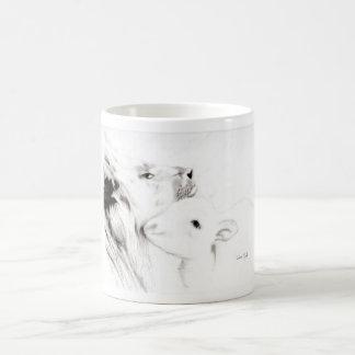 Lion and the Lamb Mug