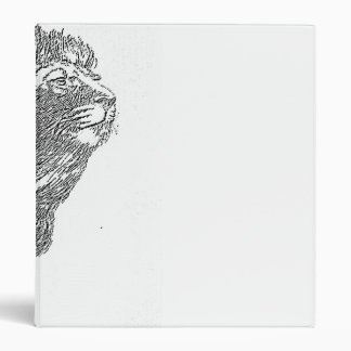 Lion and the Lamb Pencil 3 Ring Binder