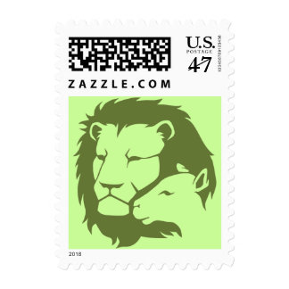 Lion and The Lamb Postage