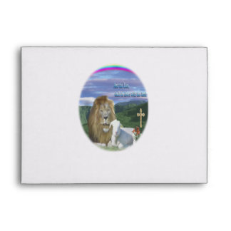 Lion and the Lamb products Envelope