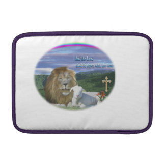 Lion and the Lamb Sleeve For MacBook Air
