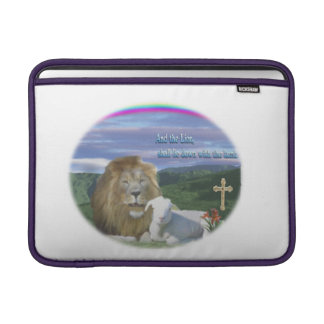 Lion and the Lamb Sleeves For MacBook Air