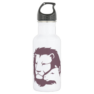 Lion and The Lamb Water Bottle