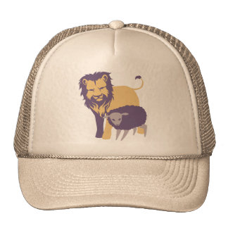 Lion and The Sheep Trucker Hats