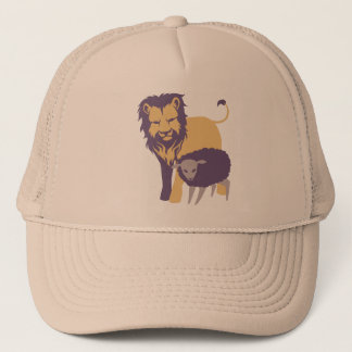 Lion and The Sheep Trucker Hat