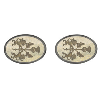 Lion and Thistle Cuff links