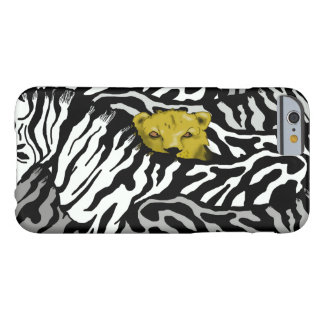 LION AND ZEBRAS BARELY THERE iPhone 6 CASE
