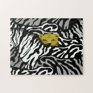 LION AND ZEBRAS JIGSAW PUZZLE