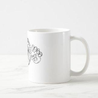 Lion Angry Esports Mascot Coffee Mug