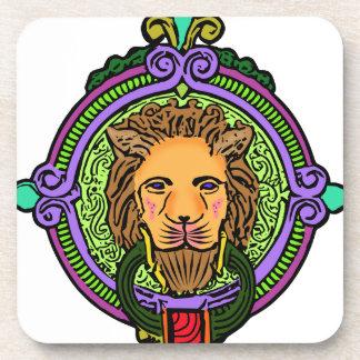 Lion Art exclusive Beverage Coaster