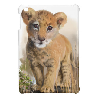 Lion baby iPad mini cover