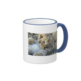 Lion baby coffee mug