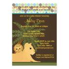 LION Baby Shower Invitation King of the Jungle KOT