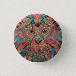 Lion badge button
