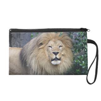 Lion Wristlet Purse