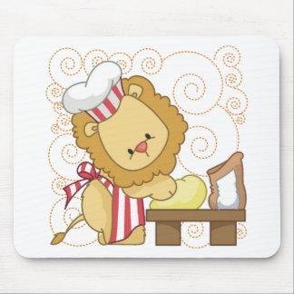 Lion Baker Mouse Pad