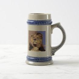 Lion Beer Stein