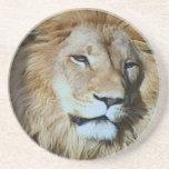 LION BEVERAGE COASTER