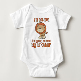 lion big brother baby bodysuit