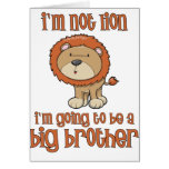 lion big brother greeting card