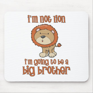 lion big brother mouse pads