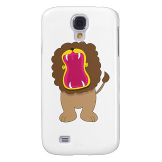 Lion Big Mouth Galaxy S4 Cover