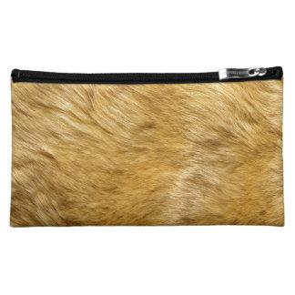 Lion Body Fur Skin Case Cover Makeup Bag