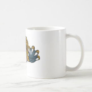 Lion Bowling Ball Sports Mascot Coffee Mug