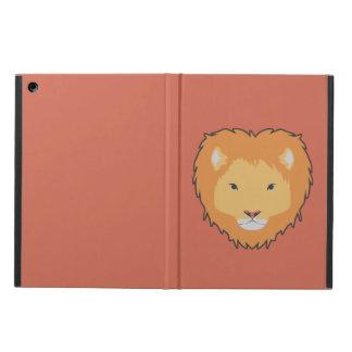 lion brown ipad case