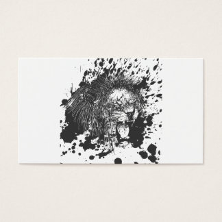 Lion Business Card
