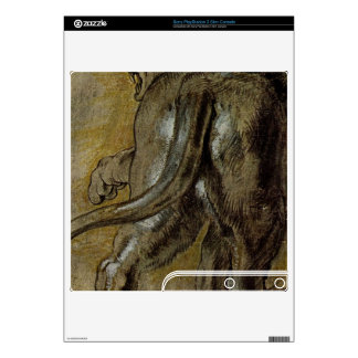 Lion by Paul Rubens PS3 Slim Decal