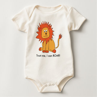 Lion can ROAR baby outfit Baby Bodysuit