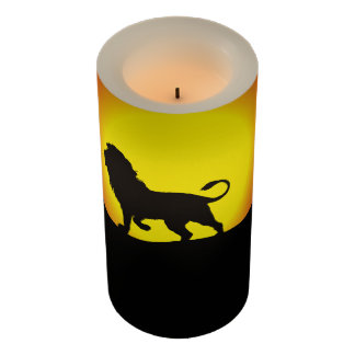 Lion Candle