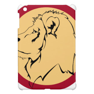 Lion Caricature cartoon Case For The iPad Mini