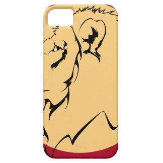 Lion Caricature cartoon iPhone SE/5/5s Case
