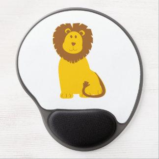 Lion cartoon gel mouse pad