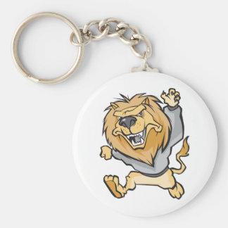 Lion Cartoon Keychain
