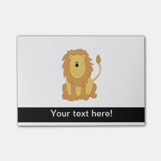 Lion cartoon Post-It notes